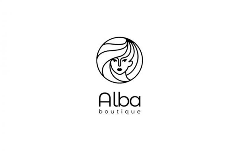 Diseño Gráfico Alba Boutique - Logotipo