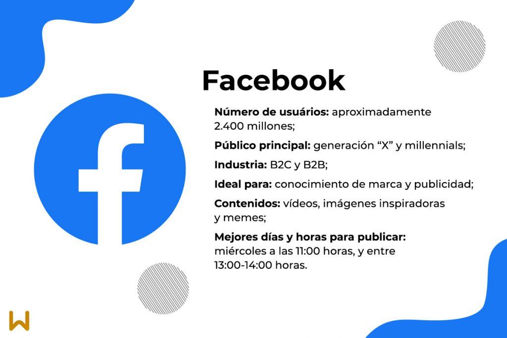 Características y ventajas de Facebook