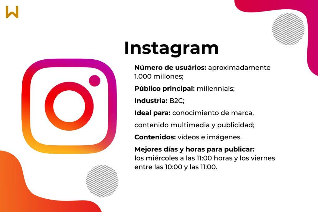 Características y ventajas de Instagram