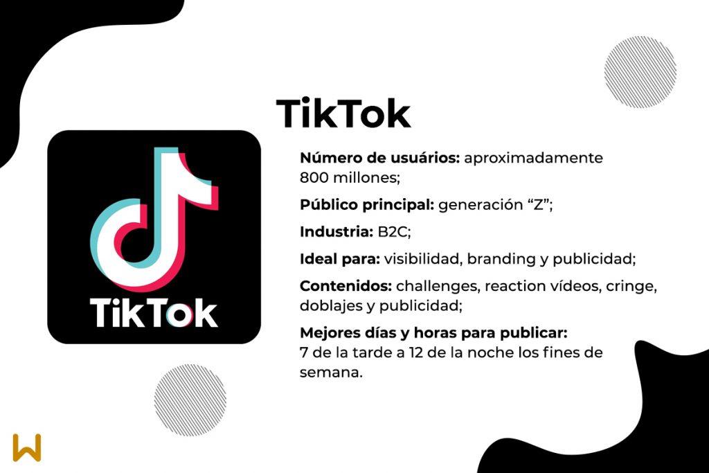 Características y ventajas de TikTok