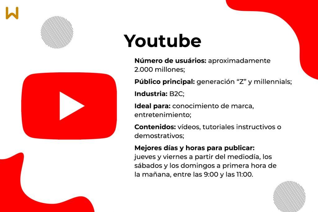 Características y ventajas de Youtube