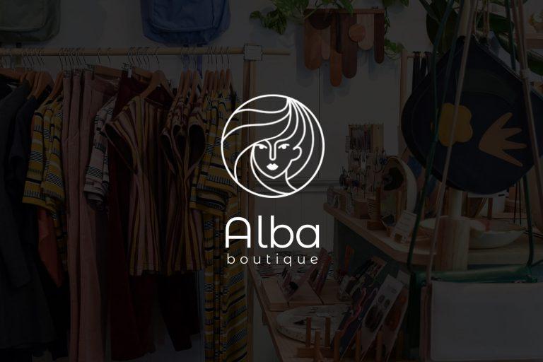 Diseño de logotipo - Alba Boutique