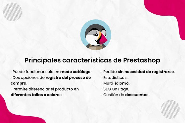 Principales características de Prestashop